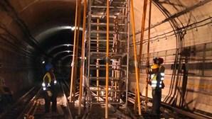 Metro de Lisboa prevê reabertura total da Linha Azul na próxima sexta-feira