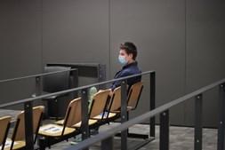 Rui Pinto em tribunal