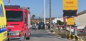Um morto em colisão entre comboio e mota em Leiria