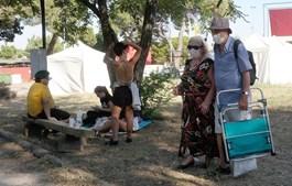 Participantes de todas as idades marcaram presença no evento