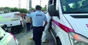 GNR arrombou a porta da casa