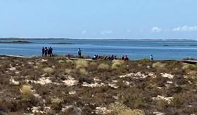 Três dezenas de ilegais desembarcam na ria Formosa no Algarve