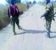 Vídeo de execução de mulher nua choca Moçambique