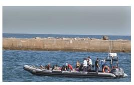Barco de migrantes traz grávida e menor até ao Algarve