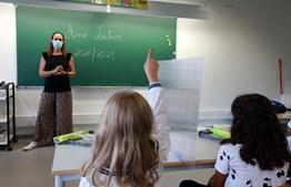 Início do novo ano letivo 2020/2021 na Escola Parque Silva Porto, em tempos de Covid-19
