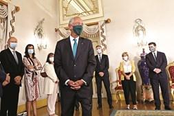 Tomada de posse dos cinco novos secretários de Estado