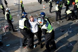 Protestos em Londres