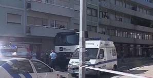 Homem morre atropelado por camião no centro do Porto