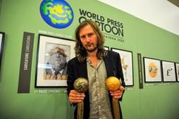 Frank Hoppmann venceu o primeiro prémio do concurso (no valor de 10 mil euros)