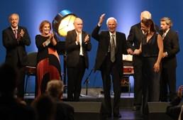 Joel Pina celebrou o 100º aniversário em festa que contou com o primeiro-ministro e várias figuras do Fado