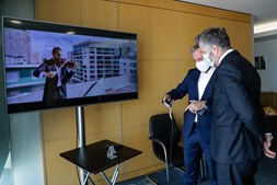 Dense Air fez videochamada 5G
