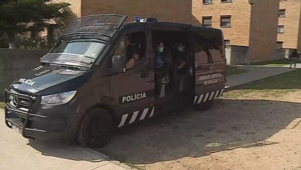 Megaoperação da PSP no Bairro da Pasteleira no Porto