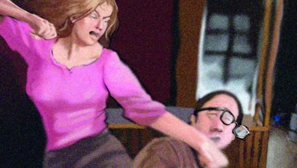 Professora maltratava marido e os três filhos