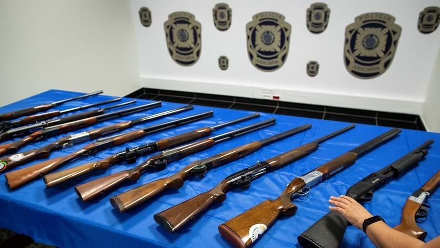 Caçadeiras foram usadas em diversos ataques a tiro para intimidar rivais e vão agora ser alvo de perícias para ligar suspeitos a outros crimes