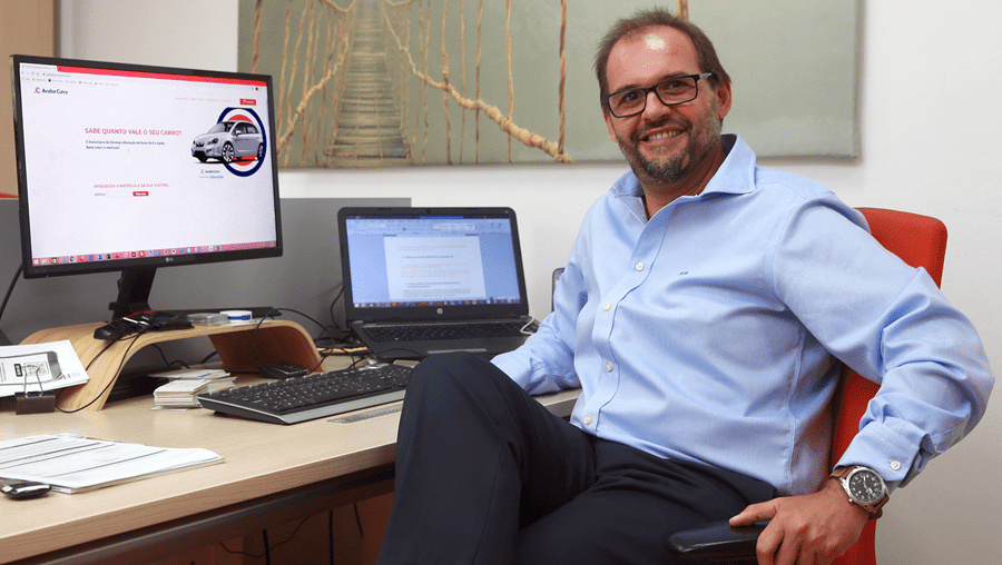 Luís Ribeirinho, diretor Comercial do serviço AvaliarCarro