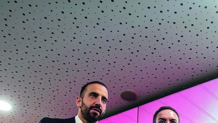 António Salvador e Rúben Amorim