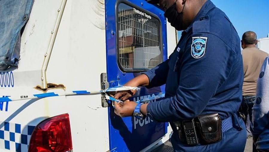 Polícia na África do Sul