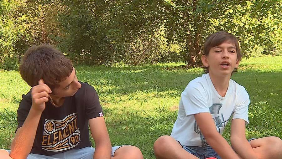Tiago e Rafael