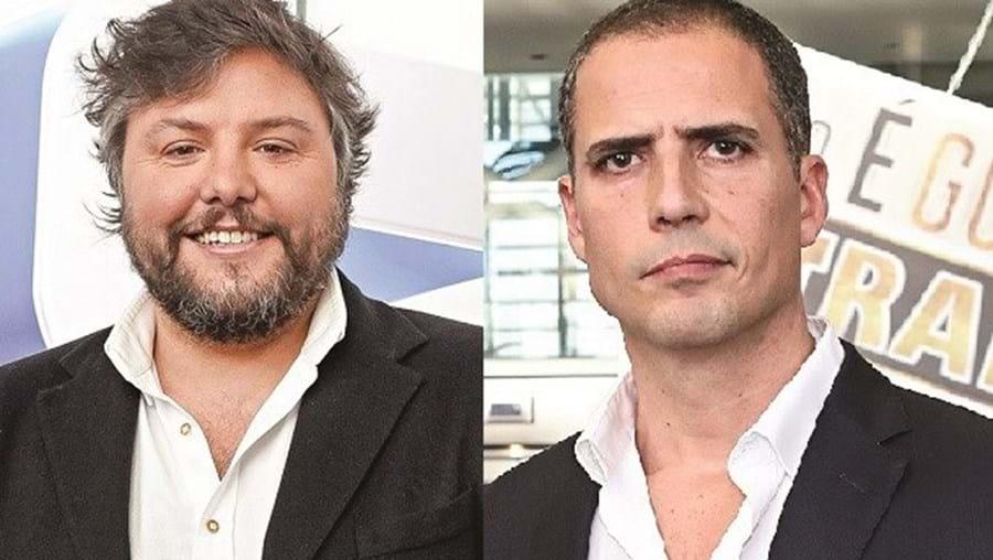 César Mourão e Ricardo Araújo Pereira