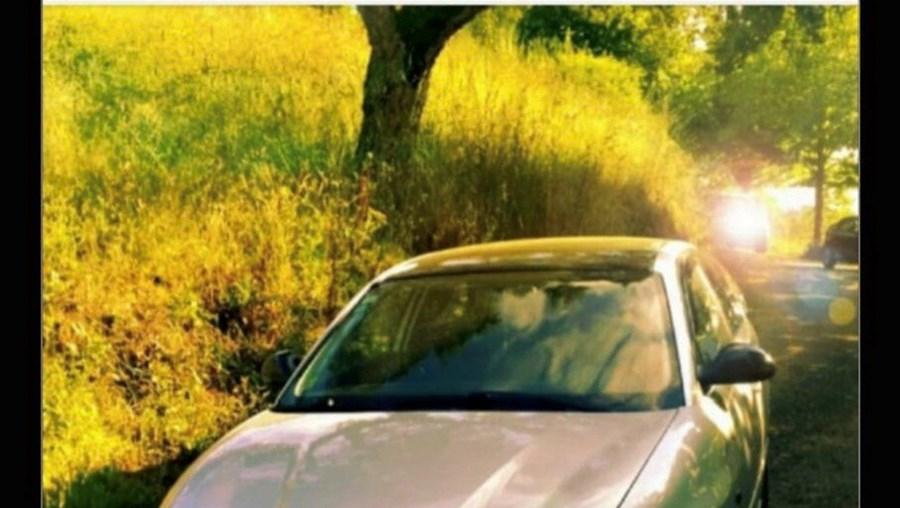 Carro usado pelo casal para assaltos
