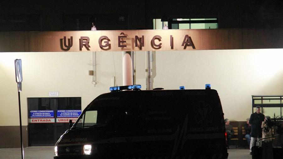 Homem atingido na zona abdominal não esclareceu o que aconteceu quando deu entrada nas Urgências