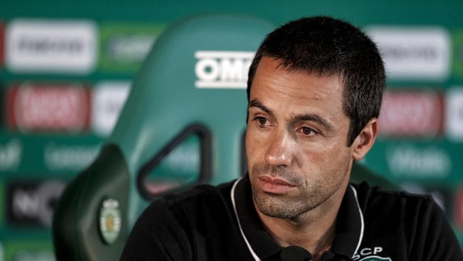 Emanuel Ferro, treinador-adjunto do Sporting
