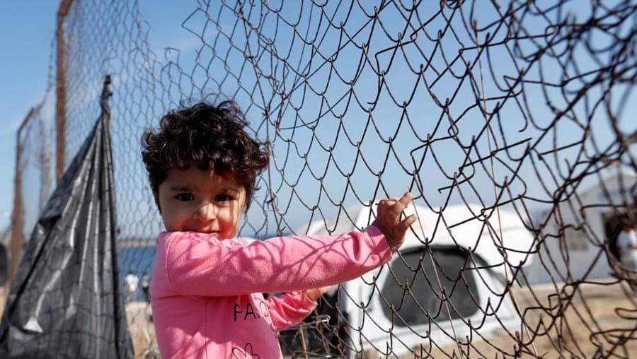 Refugiados - Imagem de arquivo