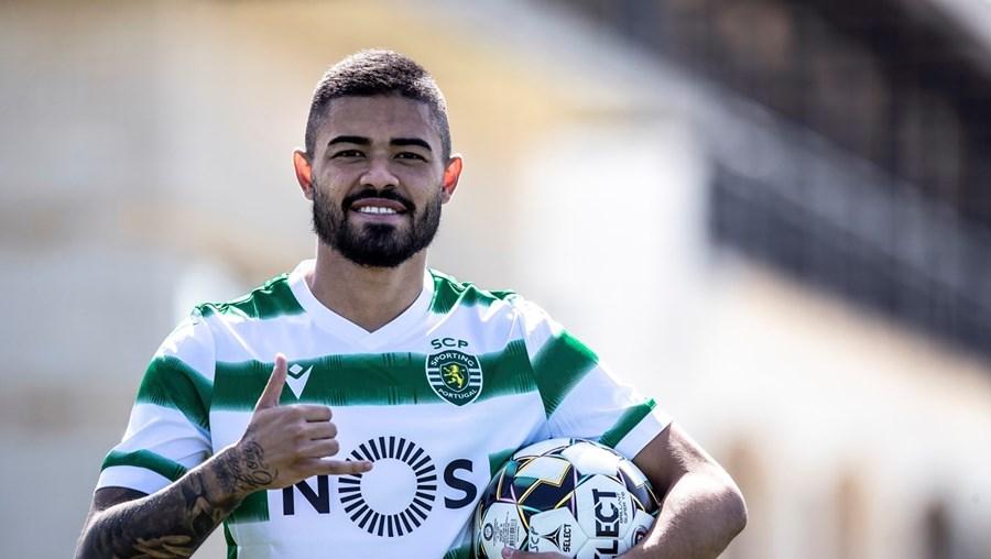 Bruno Tabata assinou pelos leões até 2025 e fica blindado com uma cláusula de rescisão de 60 milhões de euros