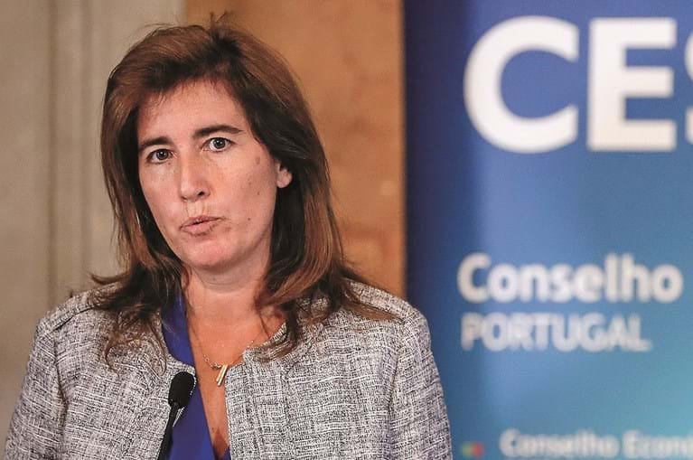 Ministra do Trabalho Ana Mendes  Godinho
