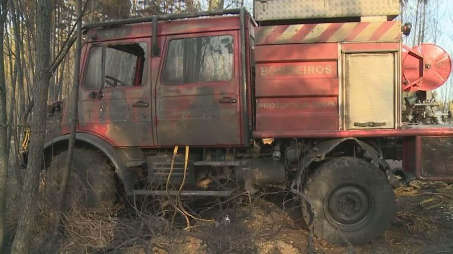 Veículo de combate sofreu danos avultados e estará inoperacional durante os próximos meses