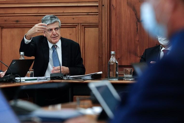 Luís Máximo dos Santos esteve na comissão de Orçamento e Finanças