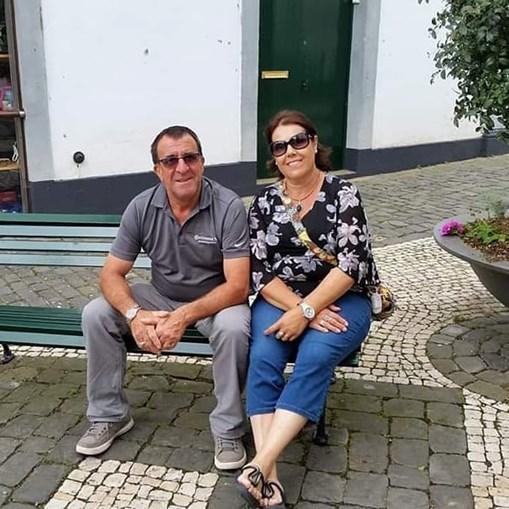 João e Iva Barcelos , de 64 e 59 anos