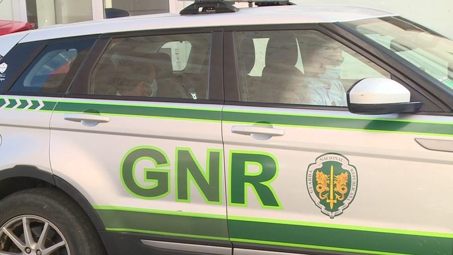 Miguel Cintra, ontem, depois de ter sido detido pela terceira vez por militares da GNR, em Vila do Bispo