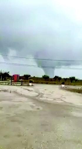 Tornado fez  estragos em Palmela