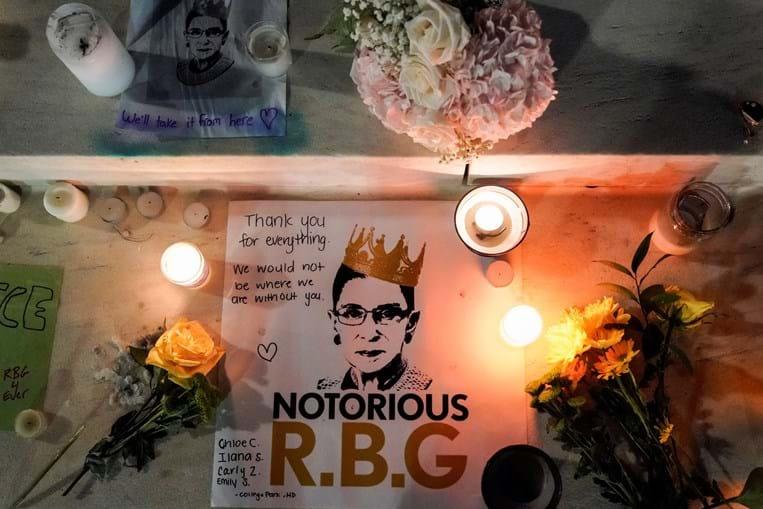 Homenagem a Ruth Bader Ginsburg