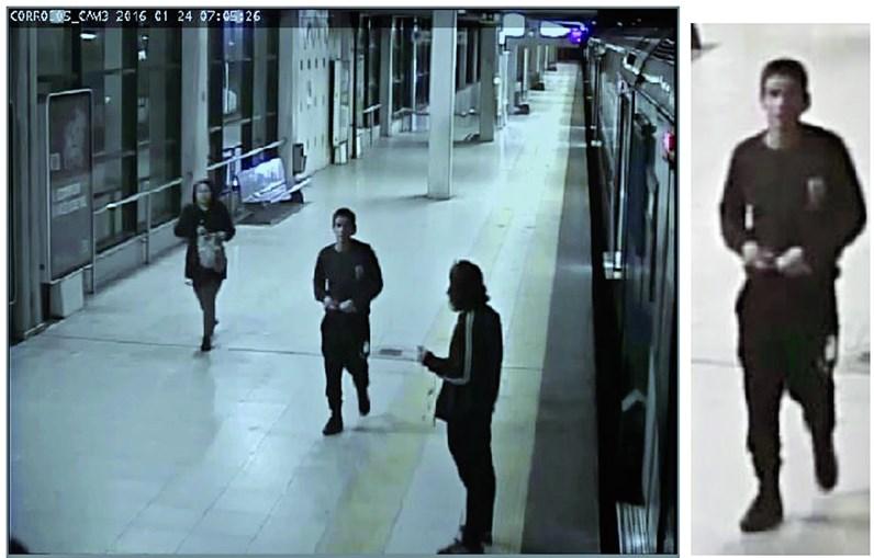 Assaltante violento em comboio de Lisboa