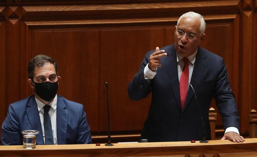 Primeiro-ministro, António Costa, só respondeu às questões dos partidos no fim de todas as intervenções