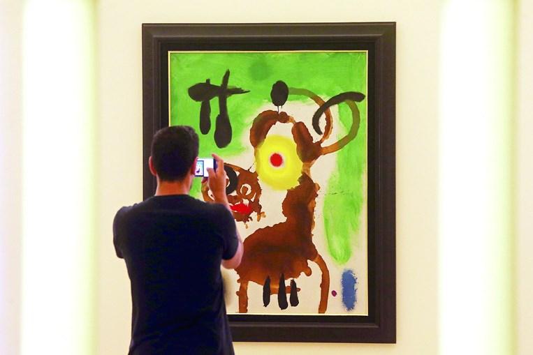 Obras de Juan Miró acabaram nacionalizadas