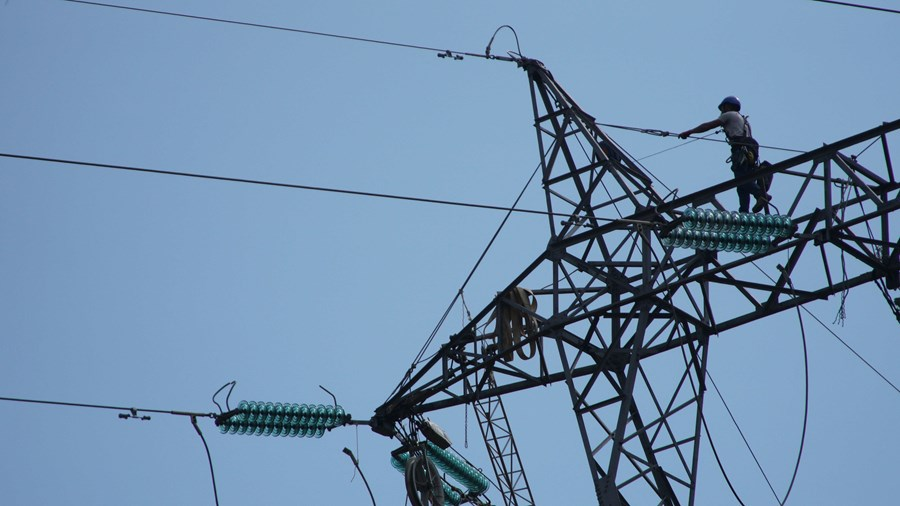 Poste de eletricidade