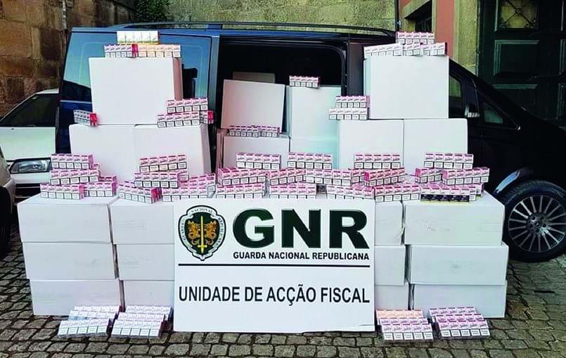 Unidade de Ação Fiscal do Porto apreendeu 275 mil maços de tabaco sem estampilha fiscal