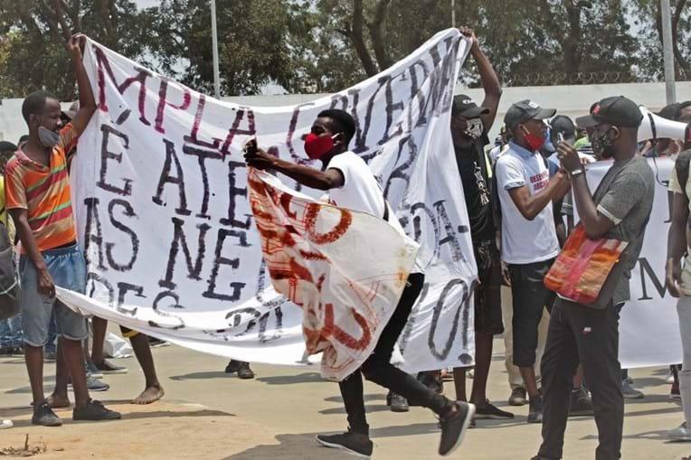 Manifestações Luanda
