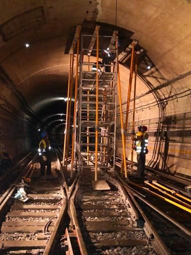 Metro de Lisboa em obras