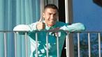 Cristiano Ronaldo continua infetado com coronavírus. Novo teste deu positivo
