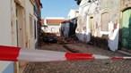 Casas devolutas desabam em Silves e atingem carro e habitações vizinhas