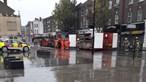 Explosão em loja de telemóveis faz dois mortos e provoca colapso de prédio em Londres