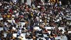 Bancadas cheias e sem distanciamento físico no Autódromo do Algarve durante GP de Portugal de F1