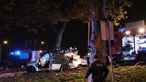 Um morto em despiste na Estrada da Circunvalação no Porto