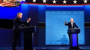 Caos do debate entre Trump e Biden força mudança de regras