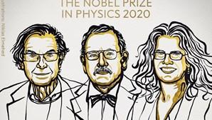 Prémio Nobel da Física para descoberta de buracos negros e 'objeto supermassivo' na Via Láctea