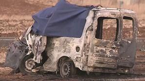 Estrada estreita em Aljustrel foi fatal para dois irmãos